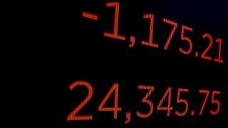 Der «Flash Crash» hat Auswirkungen auf die Schweizer Börse: Der SMI sackte zu Handelsbeginn um vier Prozent ab.