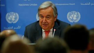 UNO-Sicherheitsrat fordert rasches Ende der Gewalt