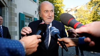 Blatter vor dem TAS: «Wir sind keine Lügner»