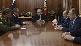 Moskau sucht Partner für die Anti-Terror-Mission