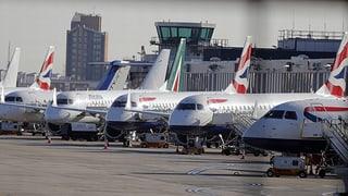 London City Airport ist geschlossen