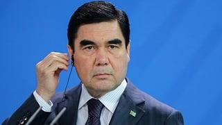 Warum Präsident Berdimuhamedow vor der Wiederwahl steht