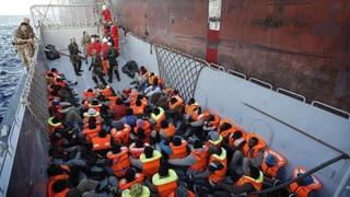 Italienische Küstenwache rettet 264 Kinder