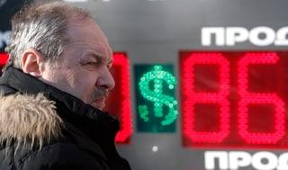 Der Rubel rollt nicht mehr