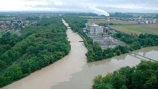 Hochwasser: Schifffahrt auf Aare wird eingestellt