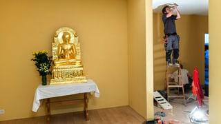 So leben die Buddhisten im Haus der Religionen
