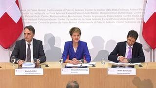 Bundesrat zur SVP-Initiative: Das Protokoll