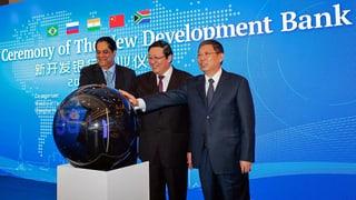 Brics-Staaten starten Entwicklungsbank