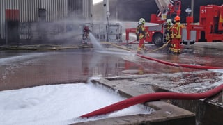 Brand in Zementwerk Würenlingen: Filter ist geleert
