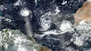 Drei Hurrikane im Atlantik