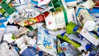 Getränkekartons: Recycling wird kaum genutzt