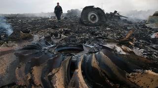 Fast 300 Tote bei Flugzeugabsturz in der Ukraine