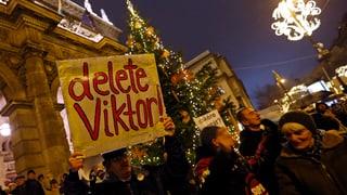 Marsch gegen Demokratieabbau in Ungarn