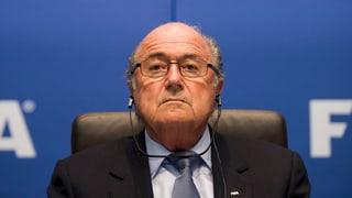 Kein WM-Entzug – Blatter hält an Katar fest