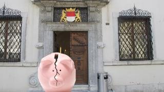 Der Kanton Solothurn schreibt rote Zahlen