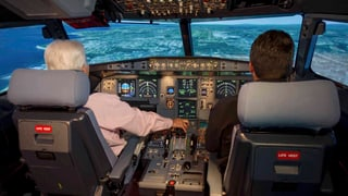 Co-Pilot flog Maschine gezielt in den Berg