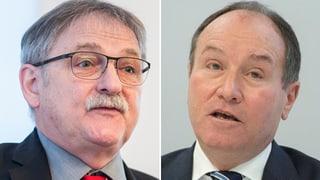 Franz Enderli und Niklaus Bleiker geben ihre Sitze frei