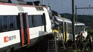 Einer der schwersten Zugunfälle seit 2003