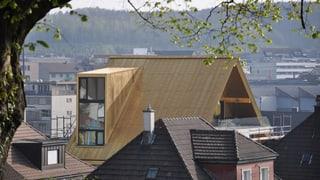Olten: Goldenes Dach muss Farbe ändern