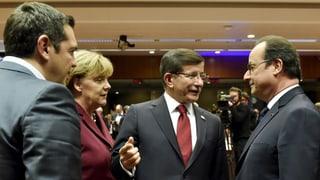 Aktionsplan für Flüchtlinge zwischen EU und Türkei steht