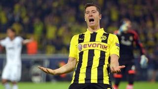 BVB siegt dank 4 Lewandowski-Toren