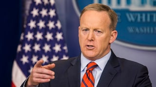 Sean Spicer in der Nazi-Falle