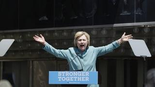 Clinton ist juristisch aus dem Schneider