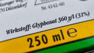 Ist Glyphosat gar nicht so schlimm?