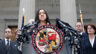 Paukenschlag in Baltimore: Mordanklage gegen Polizisten