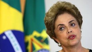 Brasiliens Präsidentin steht mit dem Rücken zur Wand