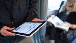 Zeitungen sind nicht out – man liest vermehrt Online