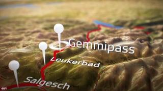 Video «Live von der Gemmi, Abstieg ins Tal» abspielen