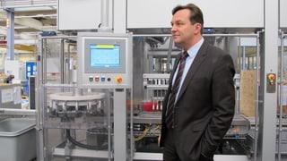 Die Verpackungsmaschinen von Bosch sind die Schnellsten.