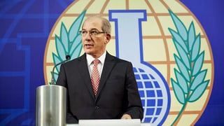 Chemiewaffenkontrolleure erhalten Friedensnobelpreis