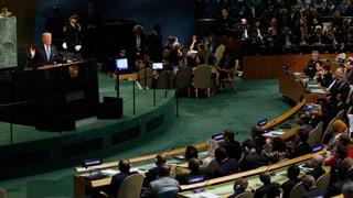 Trump über Kim Jong Un: «Raketenmann auf Selbstmord-Mission»