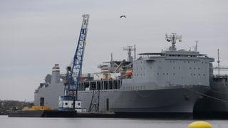 US-Spezialschiff startet Zerstörung syrischer Chemiewaffen