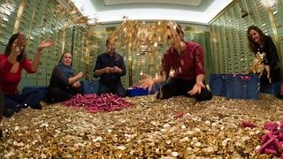 Acht Millionen Fünfräppler stehen zum Verkauf