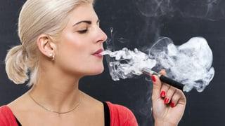 Dampfen statt Rauchen: Weniger Schadstoffe und doch umstritten