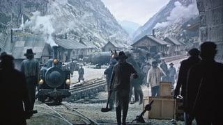 Premiera dal film «Gotthard» per ils da Valendau