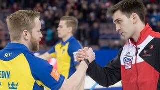 Curling: Emprim gieu ed emprima terrada