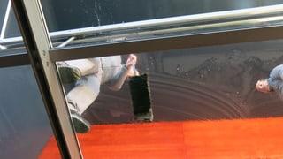 Gut organisierter Ameisenhaufen: Handwerker im Luzerner KKL