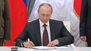 Jetzt amtlich: Krim gehört zu Russland