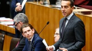 Nach spektakulären Tagen in der österreichischen Politik steht fest: Die rot-schwarze Koalition ist Geschichte, am 15. Oktober wird gewählt. Alles weitere lesen Sie hier.