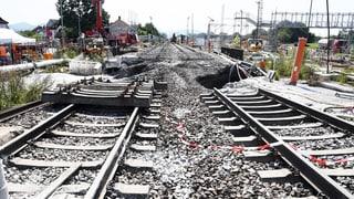 Die Rheintalstrecke soll fünf Tage früher als geplant wieder befahrbar sein – ab dem 2. Oktober. Der Bund will bis dahin negative Auswirkungen abfedern.