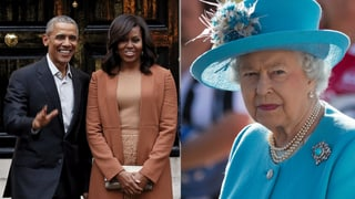 Die Obamas streiten mit der Queen auf Twitter