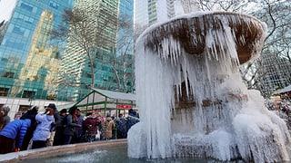 Teile der USA und Kanadas zittern vor extremer Kältewelle