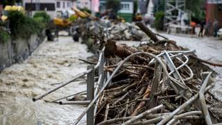 Viele Unwetterschäden in Altstätten behoben