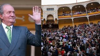 Jubel am Stierkampf für Juan Carlos: Seine letzten Tage als König
