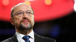 Schulz verzichtet auf Aussenministerium