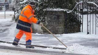 Winterthur reduziert den Winterdienst